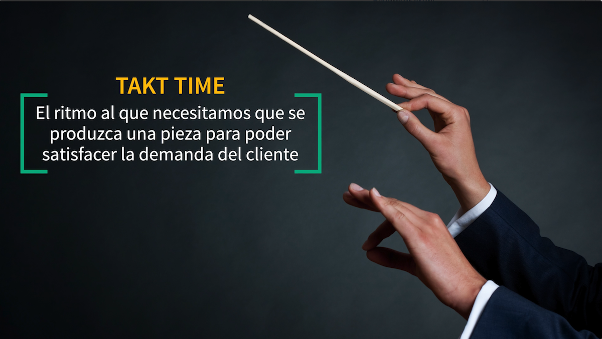 Que es takt time cicle time lead time